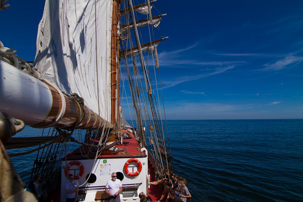 Sailing on the Baltic Sea